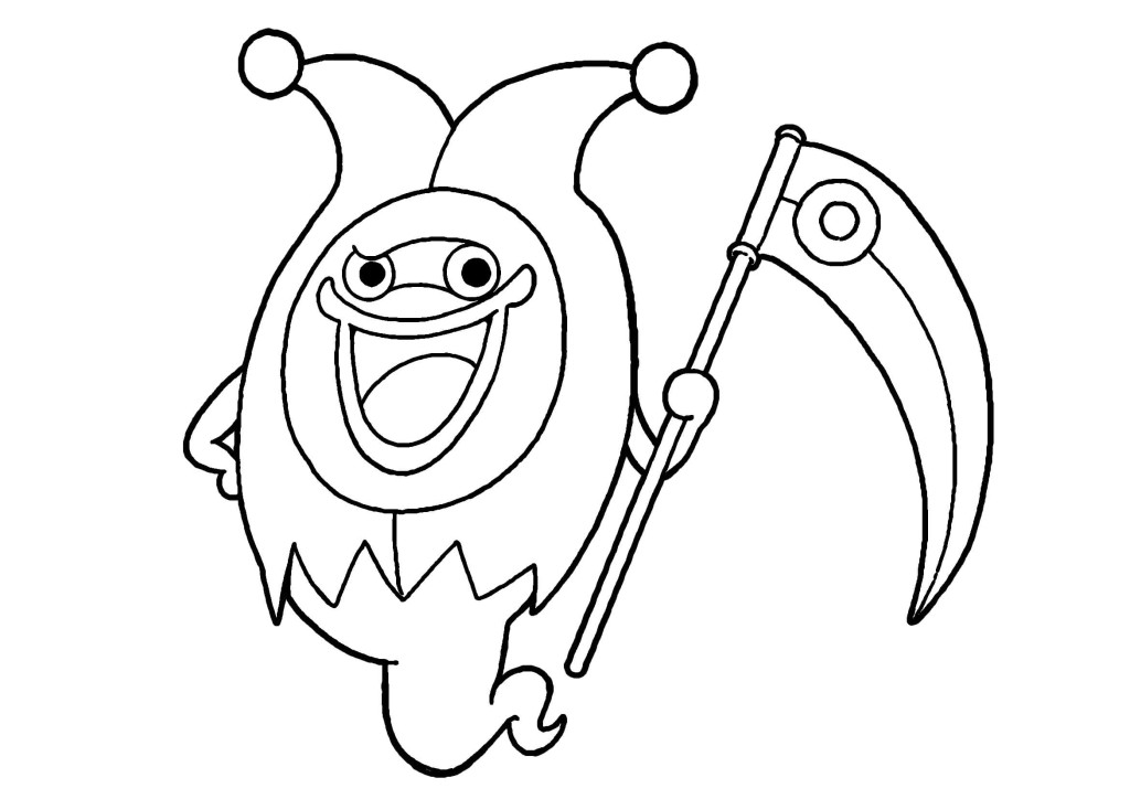 ウィスババ-トランプ系妖怪無料印刷ぬりえ