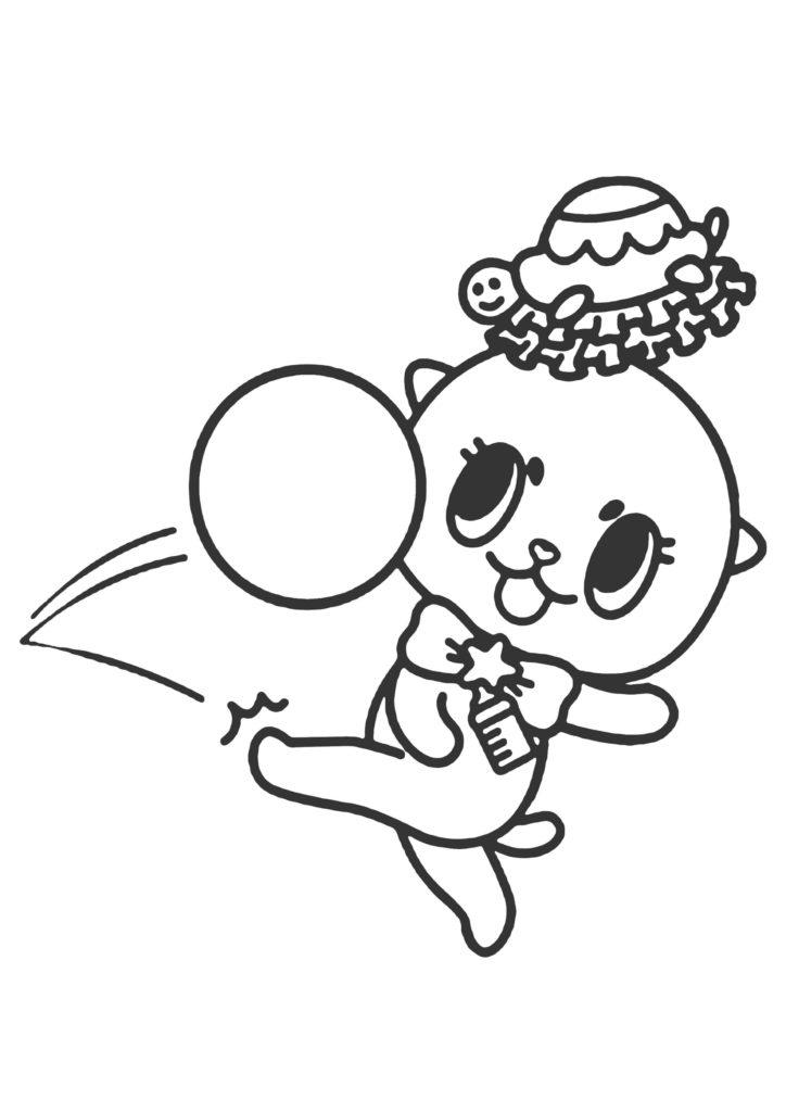 ちぃたん☆塗り絵03
