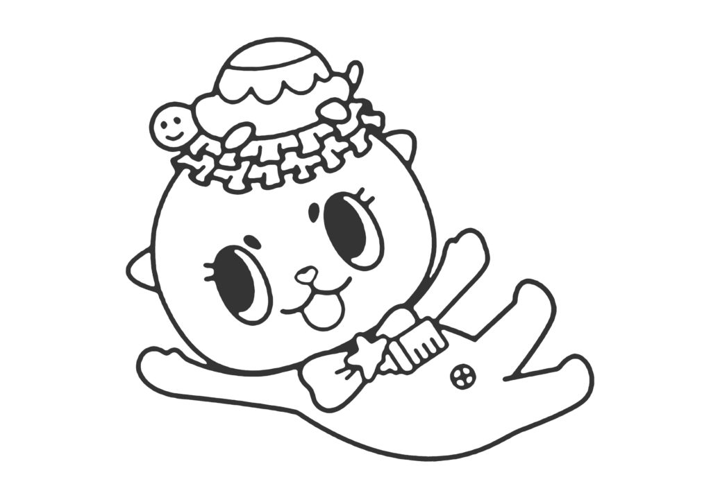 ちぃたん☆塗り絵02