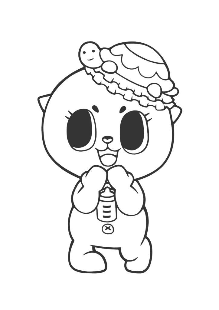 ちぃたん☆塗り絵05